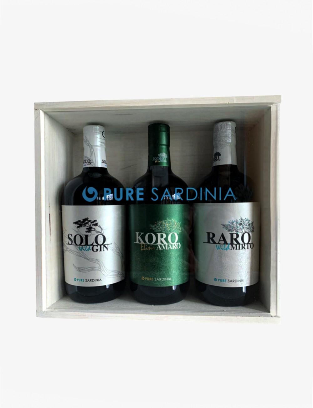 Confezione Regalo Gin Pure Sardinia